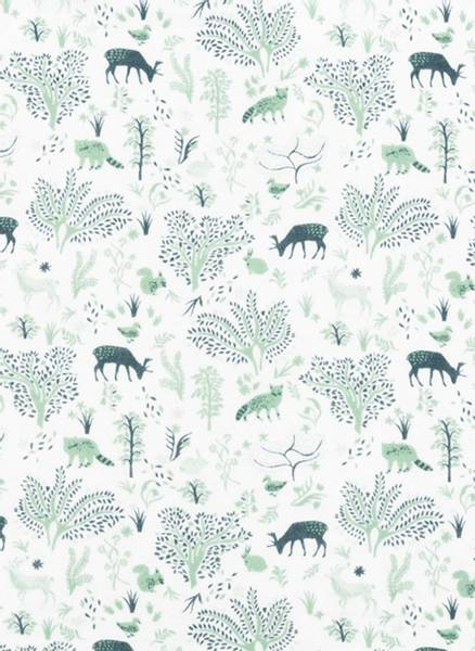 Bilde av Lilleba baby pysj, harmoni grønn