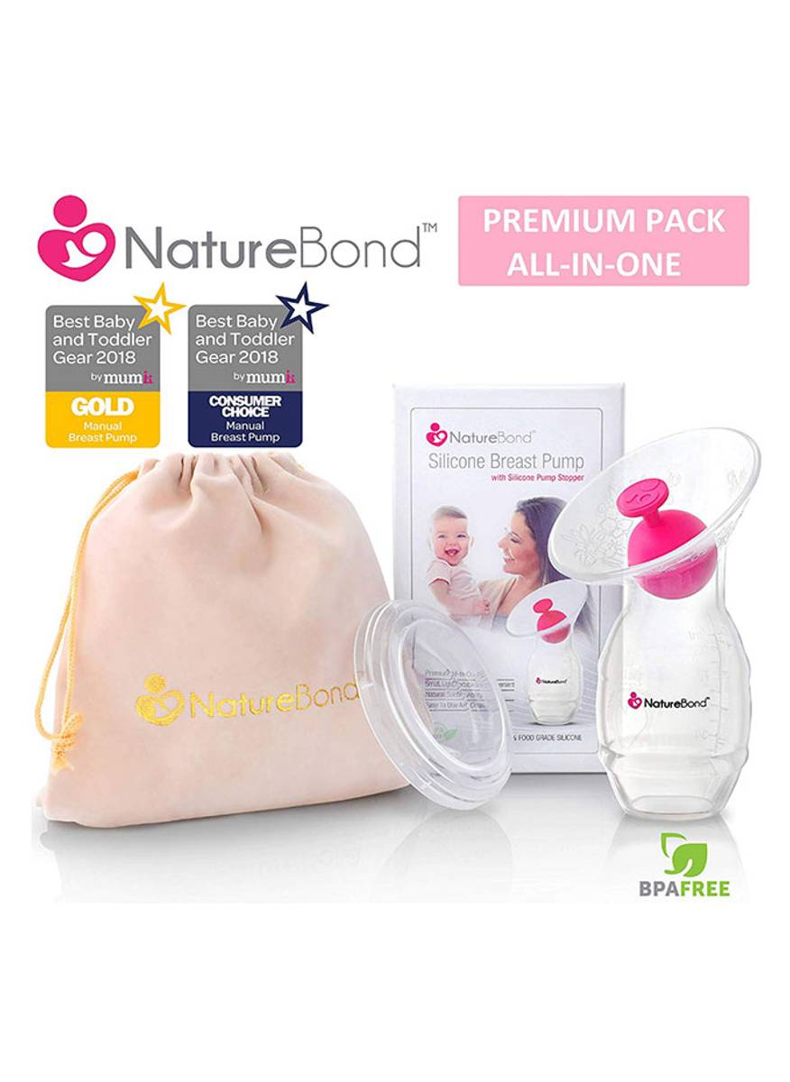 NatureBond Silikon brystpumpe / melkeoppsamler