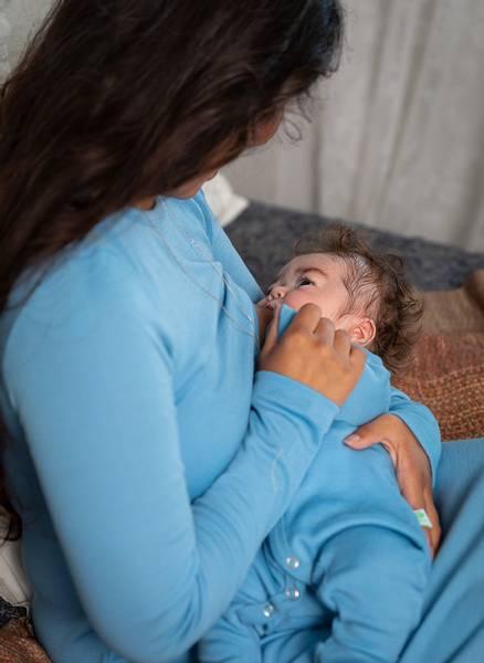 Bilde av Baby nattdrakt/heldress merinoull