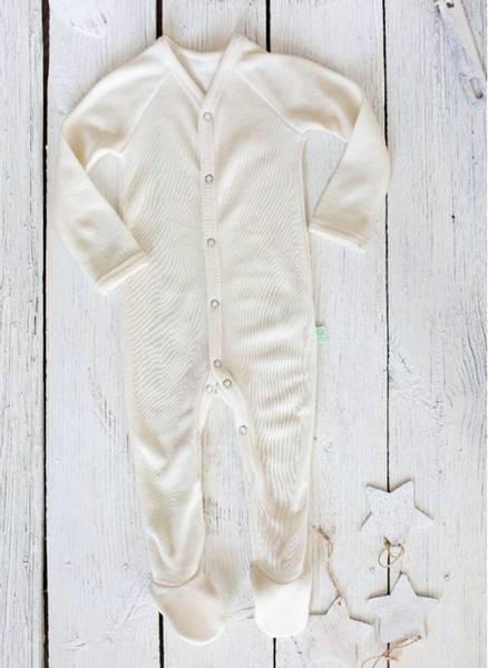 Bilde av Babynattdrakt /heldress merinoull