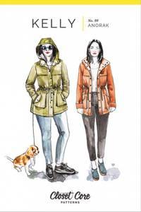 Bilde av Closet Core Patterns Kelly Anorak jakke Dame