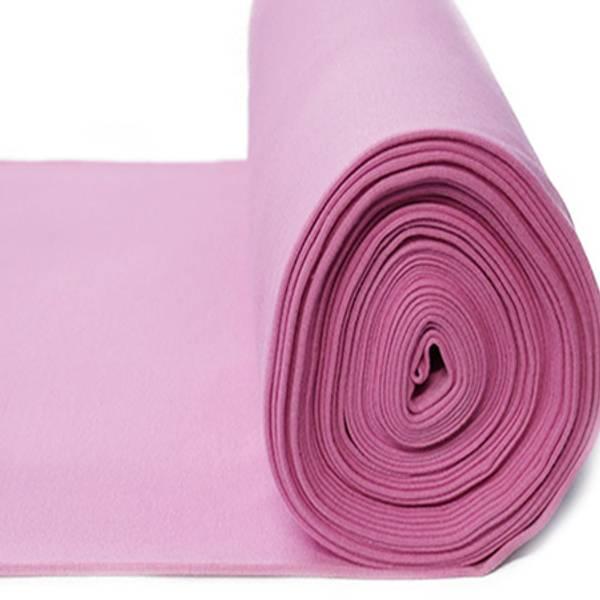 Rundstrikket ribb rosa farge 08
