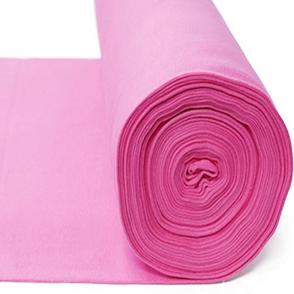 Rundstrikket ribb mørk rosa farge 09
