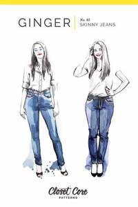Bilde av Closet Core Patterns Ginger Skinny Jean