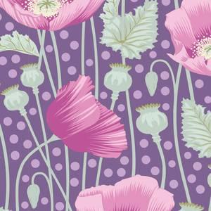 Bilde av Tilda GardenLife Poppies Lilac