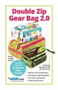 Bilde av By Annie Double Zip Gear Bags 2.0