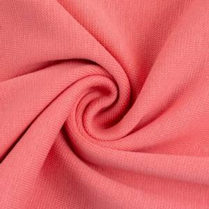 Bilde av Rundstrikket ribb pastel Coral farge:635 2 X 50cm