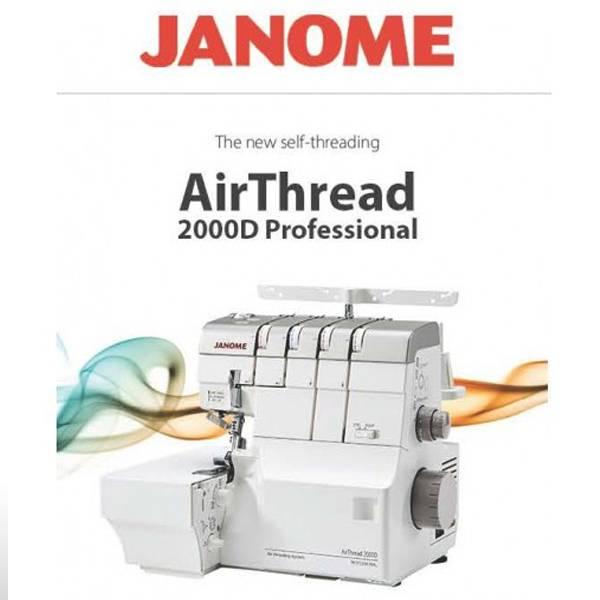 Janome Overlock The AirThread 2000DP