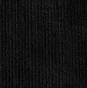 Bilde av Baby Ribb Cord uten stretch svart