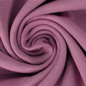 Bilde av Tynn French Terry uni gammel rosa