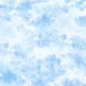 Bilde av Bomull stoff blue sky