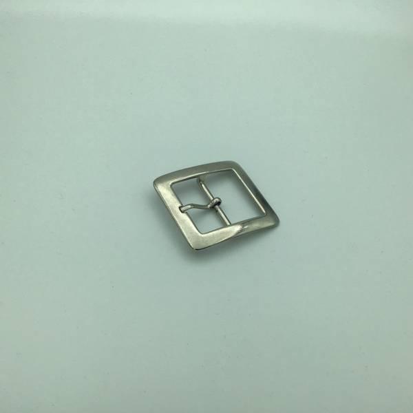 Beltespenne 30 mm sølv