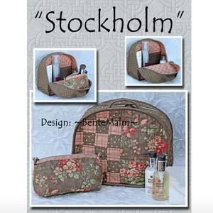 Bilde av Bente Malm Toalettveske Stockholm