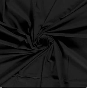 Bilde av Bomulljersey Bambus svart