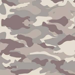 Bilde av Bomull Poplin Camouflage lys brun