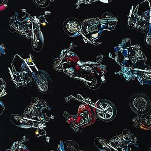 Bilde av On the Road Motorsykkel Stoff