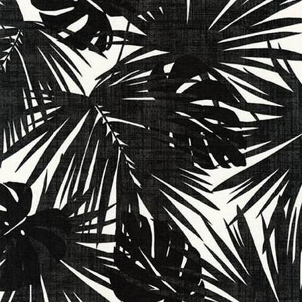 Black Island Paradise Canvas