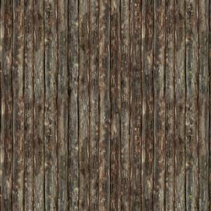 Bilde av Bomull stoff Brown Wood Planks
