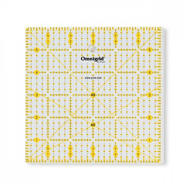 Omnigrip non-slip linjal, 6x6inch
