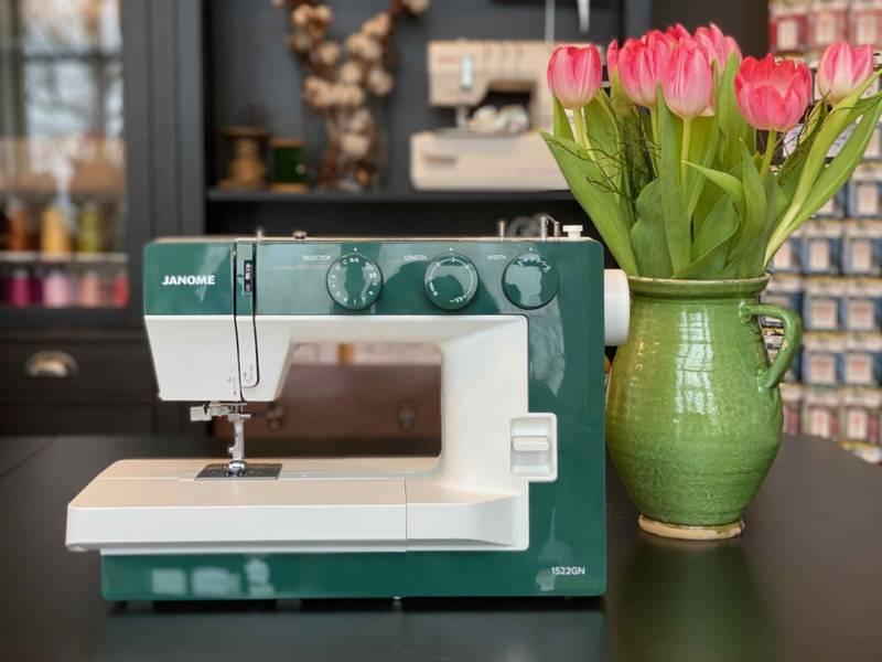 Janome Modell 1522 grønn
