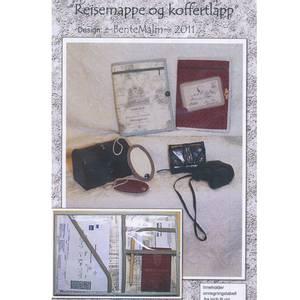 Bilde av Bente Malm Reisemappe og Koffertlapp