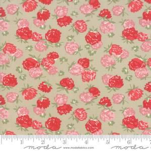 Bilde av Bomullstoff At Home Linen Blomster Moda fabrics