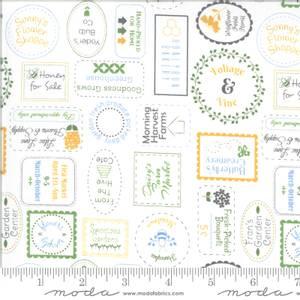 Bilde av Moda Fabrics Spring Brook Cloud