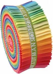 Bilde av Roll Up Kona Solids Rainbow 41stk.