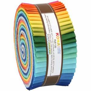 Bilde av Roll Up Kona Solids Rainbow 40stk.