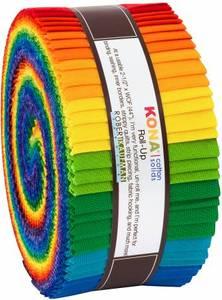 Bilde av Roll Up Kona Solids multi Rainbow 40stk.