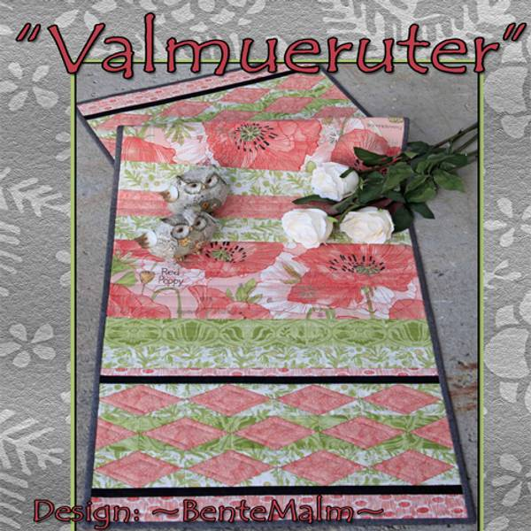 Bente Malm Valmueruter Mønster