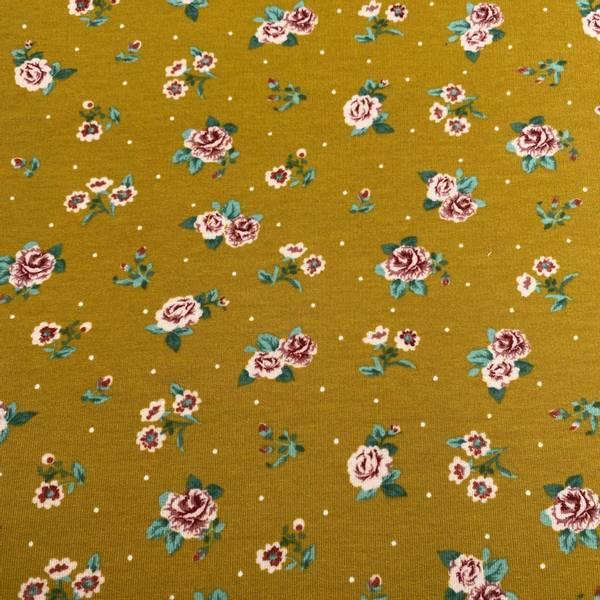Isoli med Floral Blomster roses ochre