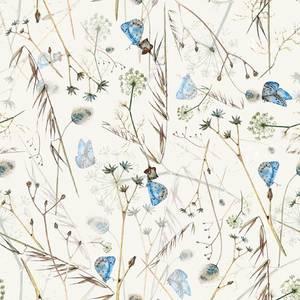 Bilde av Bomulljersey digital multi Blomster og