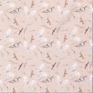 Bilde av Bomulljersey digital sommerfugler Laks