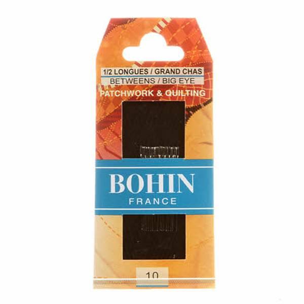 Bohin Quilting Big Eye  nåler størrelse 10