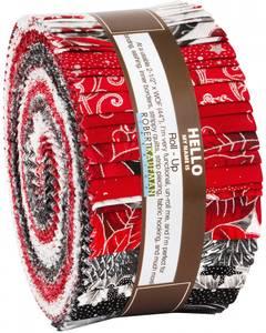 Bilde av Roll Up 2-1/2in Strips Holiday 40pc