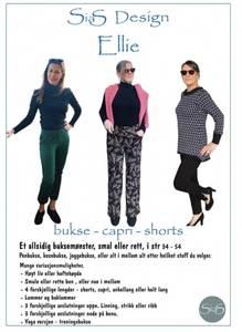 Bilde av Sias Design - ELLIE  -  bukse - shorts - capri