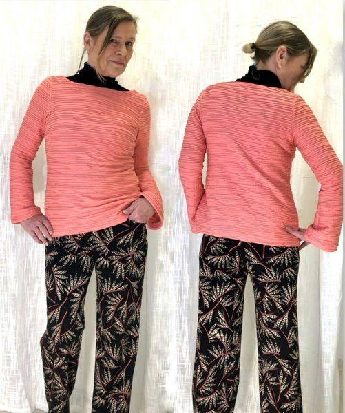 Sias Design - ELLIE  -  bukse - shorts - capri   str 34 - 54 pap