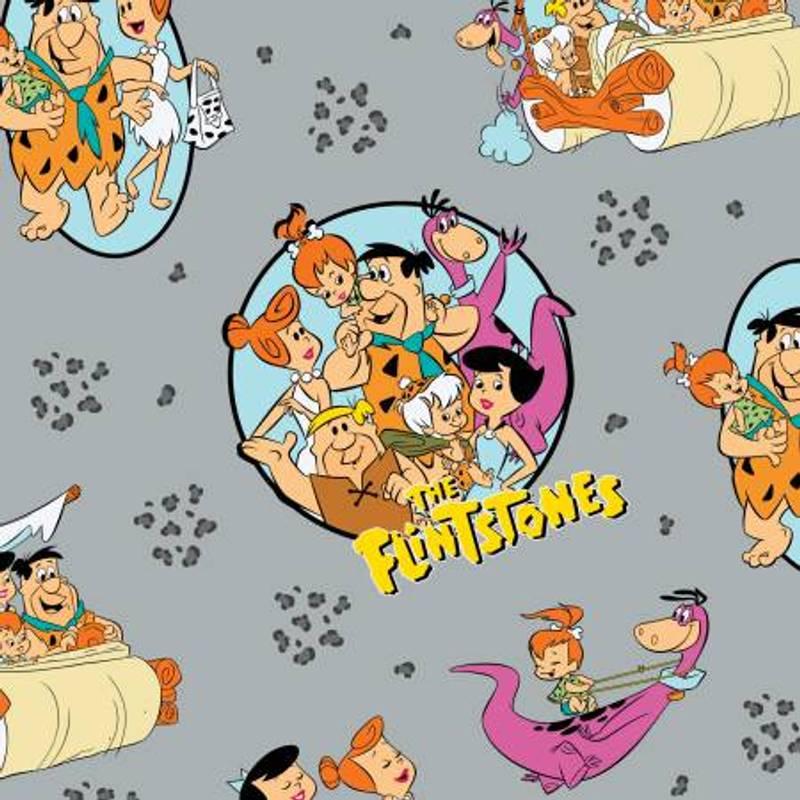 Flintstones Stone Age Family