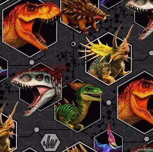 Bilde av Bomullsjersey Jurassic Park