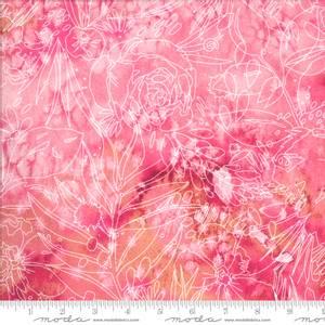 Bilde av 50cm bit Bomullstoff Moda Moody Bloom Digital
