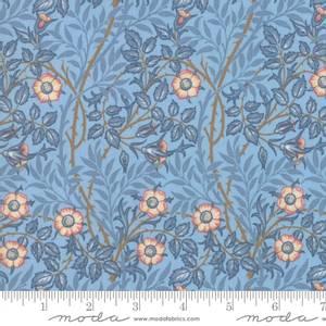 Bilde av Moda Fabrics Best Of Morris Spring Wedgewood
