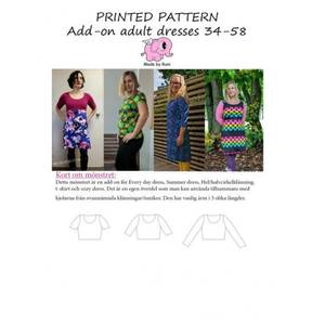 Bilde av Made by Runi - Add-on adult dresses, str 34-54