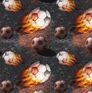 Bilde av Bomullsjersey med Fotball brann