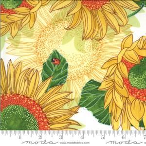 Bilde av Bomullstoff Solana Sunflowers Cream