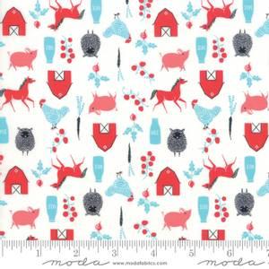 Bilde av Moda Fabrics Farm Charm Multi