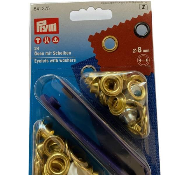 Prym Maljer gull 8 mm med verktøy