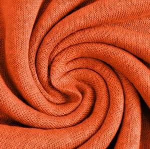 Bilde av Viskose Lin *strikket* Stoff oransje