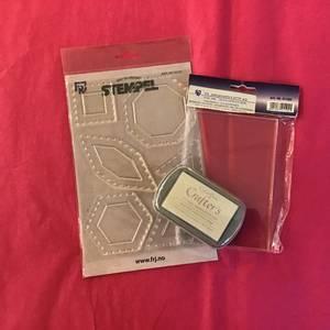 Bilde av Stempel Pakke til Paper Piecing - Hvit