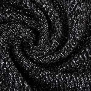 Bilde av Shine Viskosejersey med glitter svart